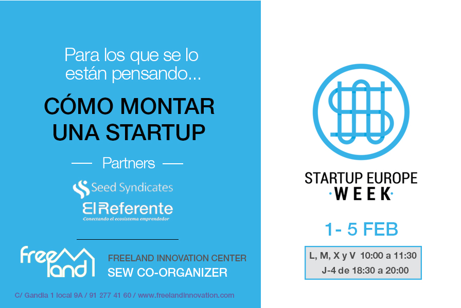 Somos coorganizadores en la Semana Europea del Emprendimiento