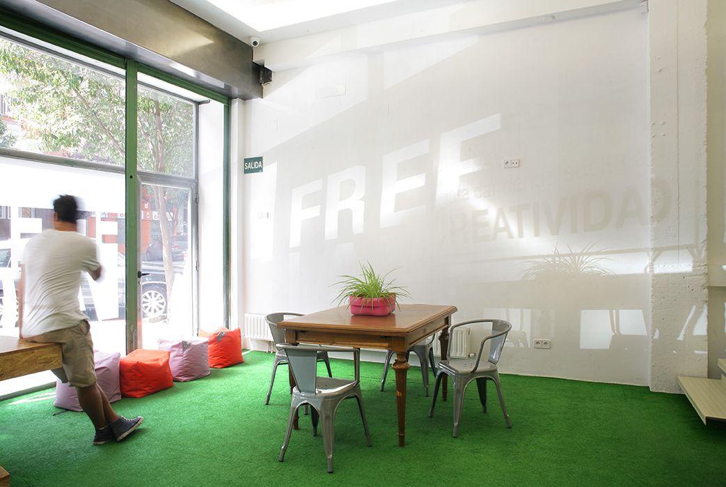 Espacio de Coworking Freeland en Madrid
