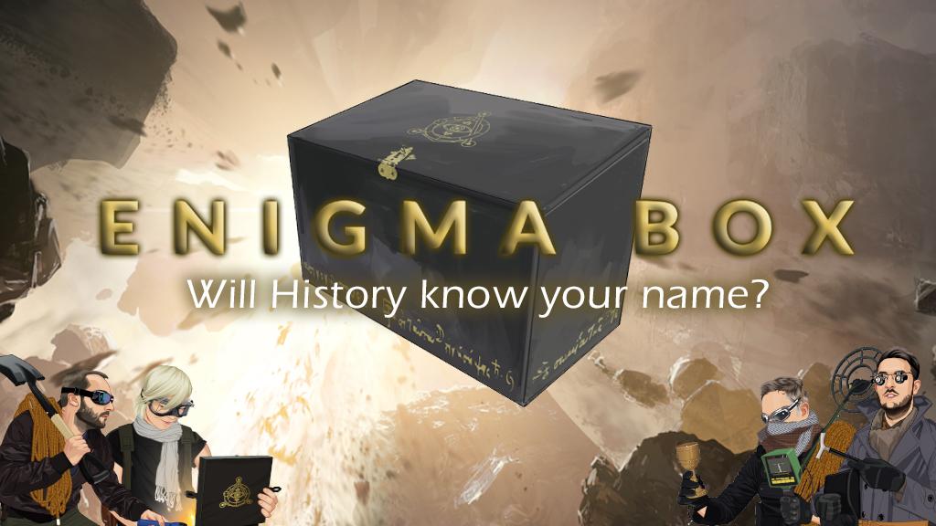 Enigma Box juego de mesa