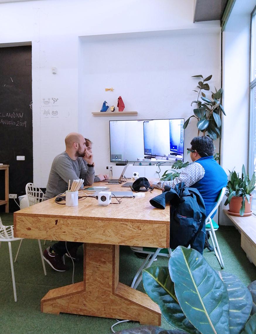 reuniones de trabajo en Freeland Coworking