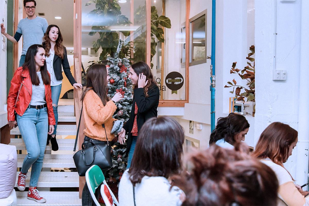 Evento de mujeres emprendedoras en Freeland Coworking