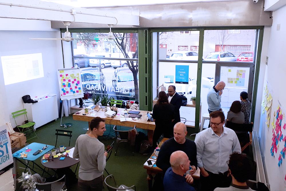 Taller de innovación en Freeland Coworking